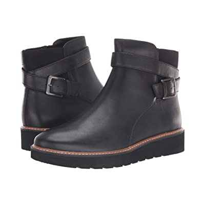 Naturalizer Aster (Black Leather) Women
