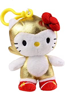 Toynami Comic Con 2016 Exclusive: Gold Sonic x Hello Kitty Clip On Plush
