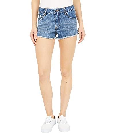 Volcom Stoney Stretch Shorts (Flight Blue) Women