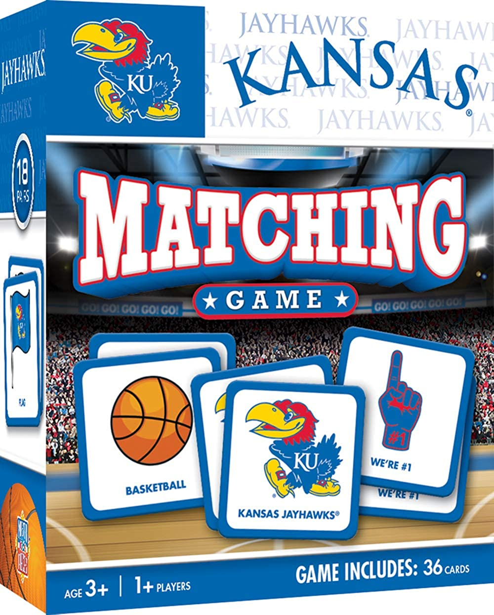 For Ages 3+ MasterPieces NCAA Matching Game