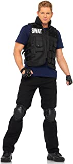 Leg Avenue Men's 4 Piece SWAT Costume