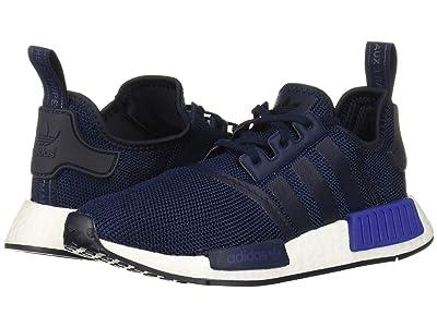 adidas Originals Kids NMD_R1 J (Big Kid) (Navy/Active Blue) Kids Shoes