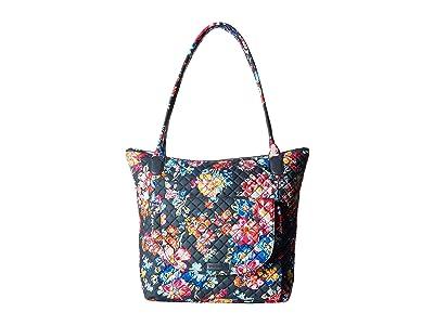 Vera Bradley Carson North/South Tote (Pretty Posies) Tote Handbags
