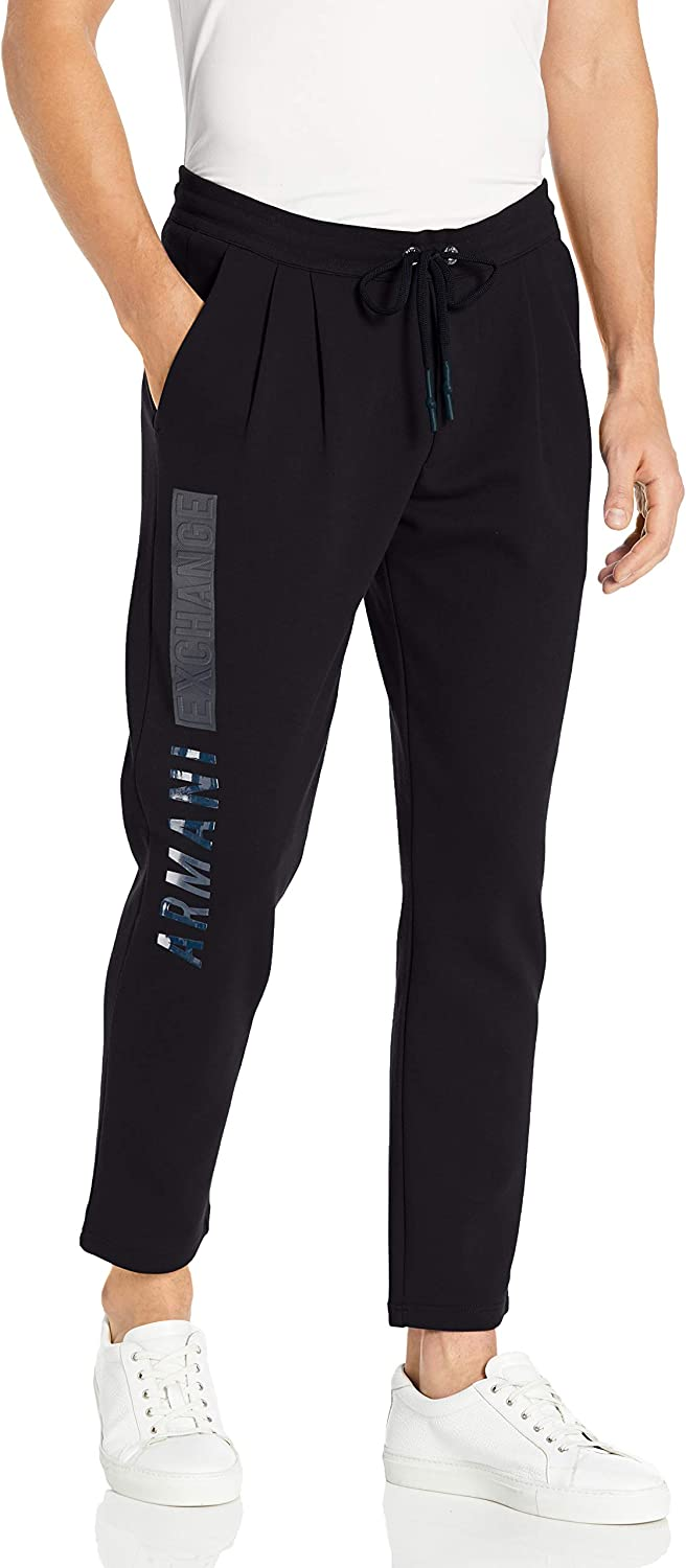 Mail order cheap AX Armani Exchange mens Classic Comfortable Trouser With Logo the on Sid