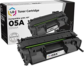 LD Compatible Toner Cartridge Replacement for HP 05A CE505A (Black)