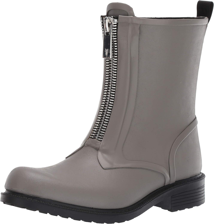 Frye Womens Storm Zip Rain Bootie Rain Boot
