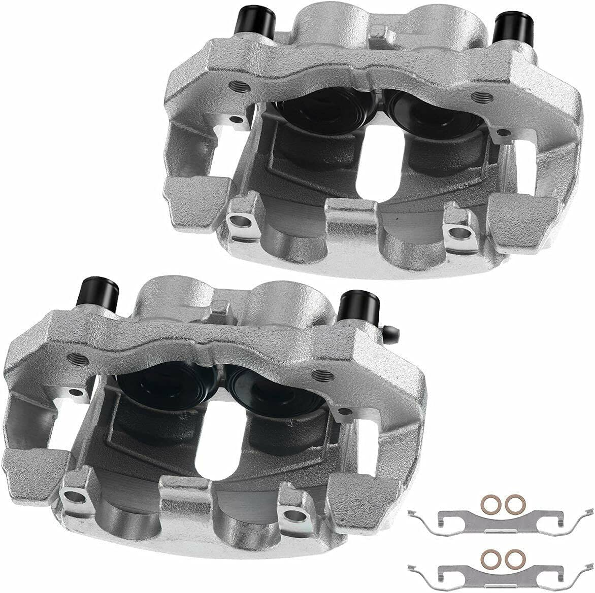 2x Disc Brake Caliper Compatible 18-B5296 with T-USBCB85297LR Cheap Rapid rise mail order sales by