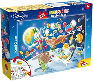 PUZZLE DF SUPERMAXI 108 MICKEY MOUSE - IN SPACE
