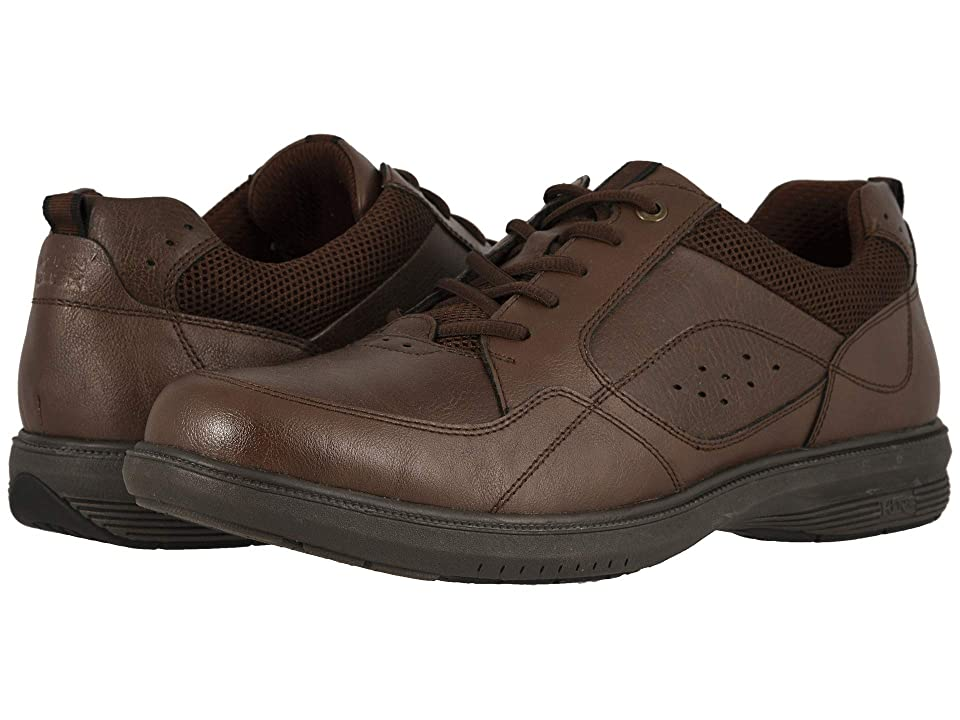 Nunn Bush Kore Walk Moc Toe Oxford (Dark Brown) Men