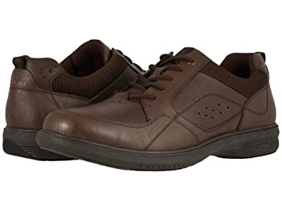 Nunn Bush Kore Walk Moc Toe Oxford (Dark Brown) Men