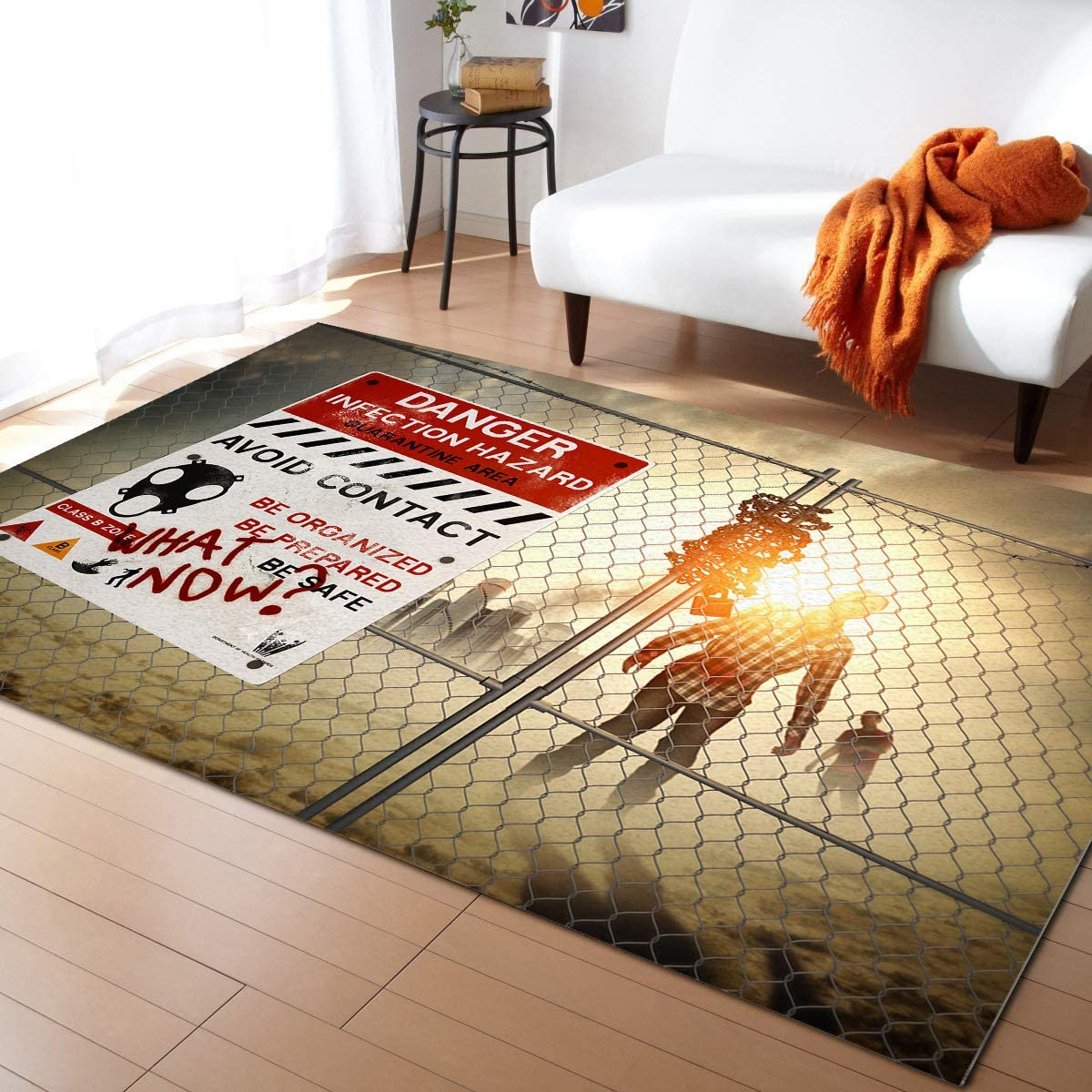 Contemporary Area 67% OFF of fixed price Rugs Superior for Bedroom Living 4'x6' Kids Room -