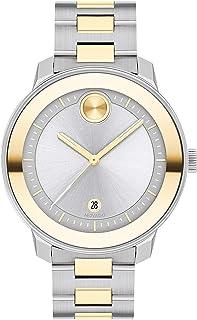 Women's Swiss Quartz Watch with Stainless Steel Strap, Two Tone, 16.95 (Model: 3600749)