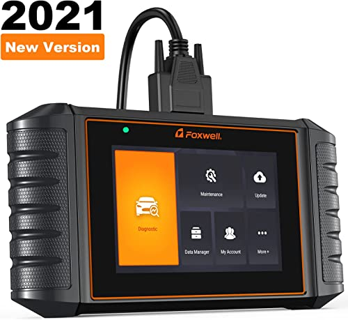 """2021 FOXWELL NT716 OBD2 Scanner ABS SRS Engine Transmission Diagnoses, Car Code Reader with ABS Bleeding EPB SAS TPMS TPS Oil Reset, new arrival Android lowest 5.5"""" Touchscreen Tablet Diagnostic Scan Tool for All Vehicles sale"""
