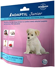 Adaptil Calm On-The-Go-Collar for Dogs (All Sizes ) | Constant Calming and Comfort Everywhere (Packaging may vary)
