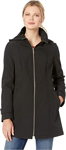 Zip Front Softshell Jacket
