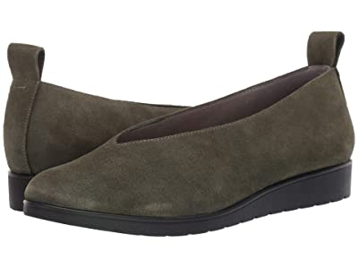 Eileen Fisher Humor (Dark Moss Suede) Women