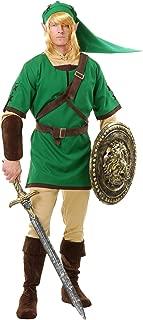 Men's Elf Warrior, Green, Teen