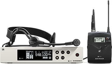 Sennheiser Pro Audio Sennheiser EW 100-ME3 Wireless Cardioid Headset Microphone System-A Band (516-558Mhz), 100 G4-ME3-A