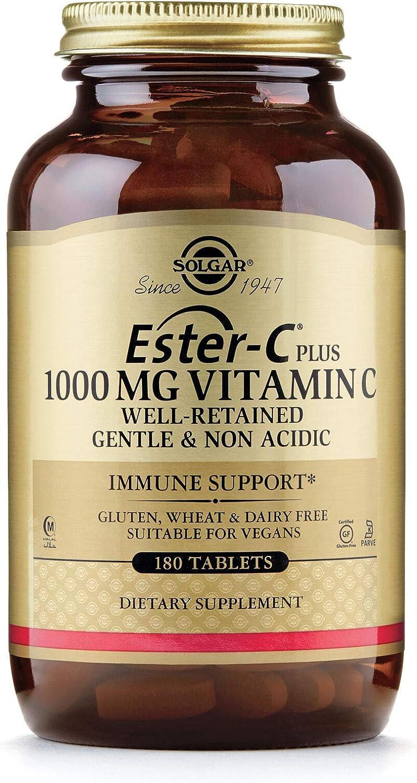 Cheap SALE Start Solgar Ester-c Ranking TOP20 Plus 1000 Mg Vitamin Tab 180 C Complex Ascorbate