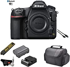 Nikon D850 FX-Format DSLR Camera (Body) - Kit with Carrying Case + More - International Model