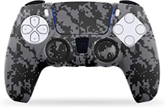 NiTHO Gaming Kit Camo for PS5, Customizing Skin Grip Handle Cover