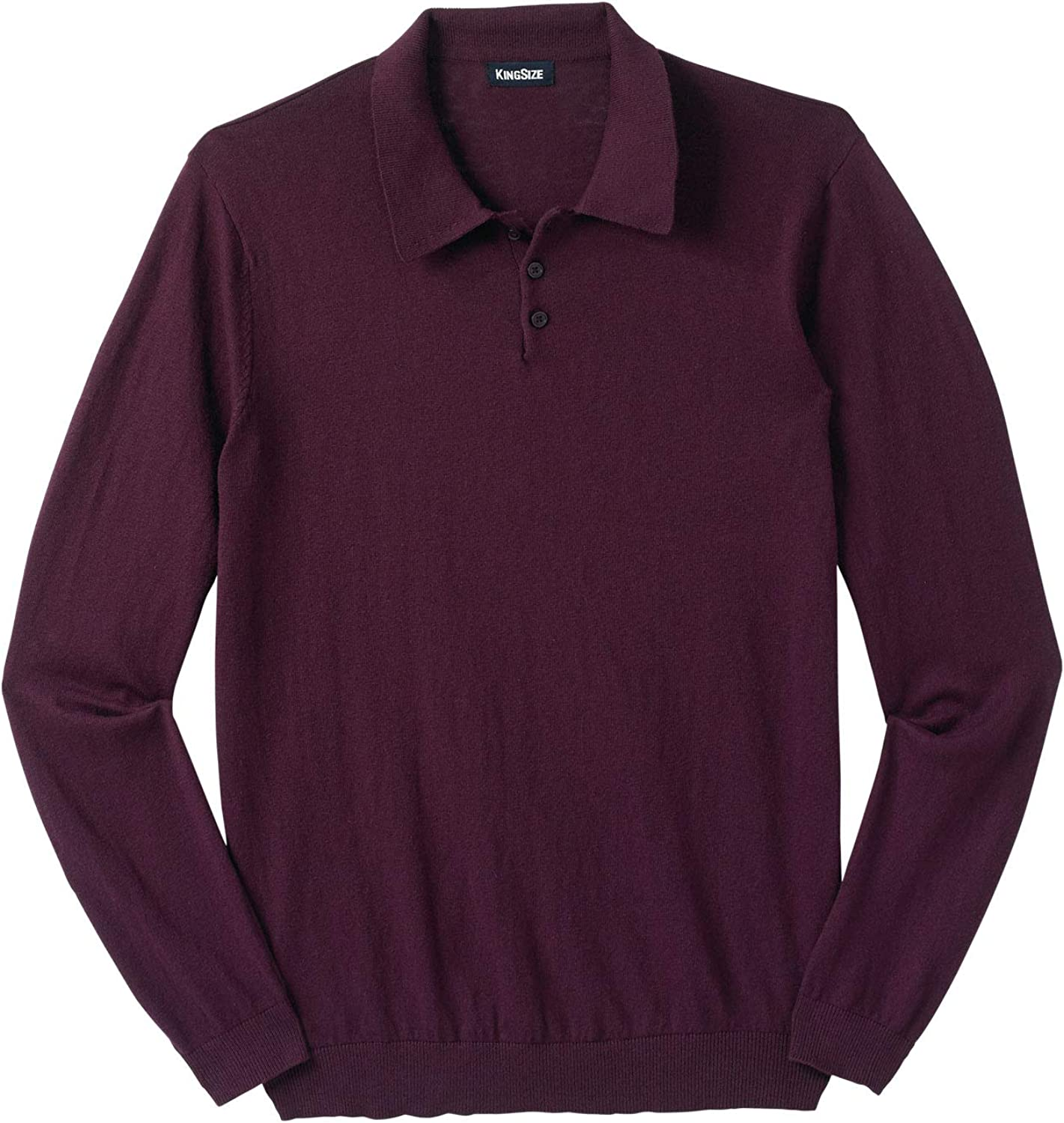 KingSize Men's Big Tall Sweater Lightweight Max 81% OFF Industry No. 1 Polo
