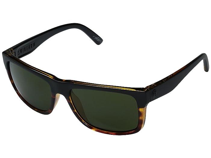 Electric Eyewear  Swingarm (Darkside Tort/OHM Grey) Fashion Sunglasses