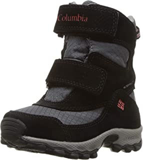 Columbia Kids' Childrens Parkers Peak Velcro Waterproof Winter Boot Snow