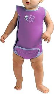 Cressi - Baby Warmer Combinaison de Bain et Natation pour Bébé en Neoprene - Lila