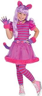 Amscan Disfraz de Gato Rosado Lindo de Cheshire para Niños