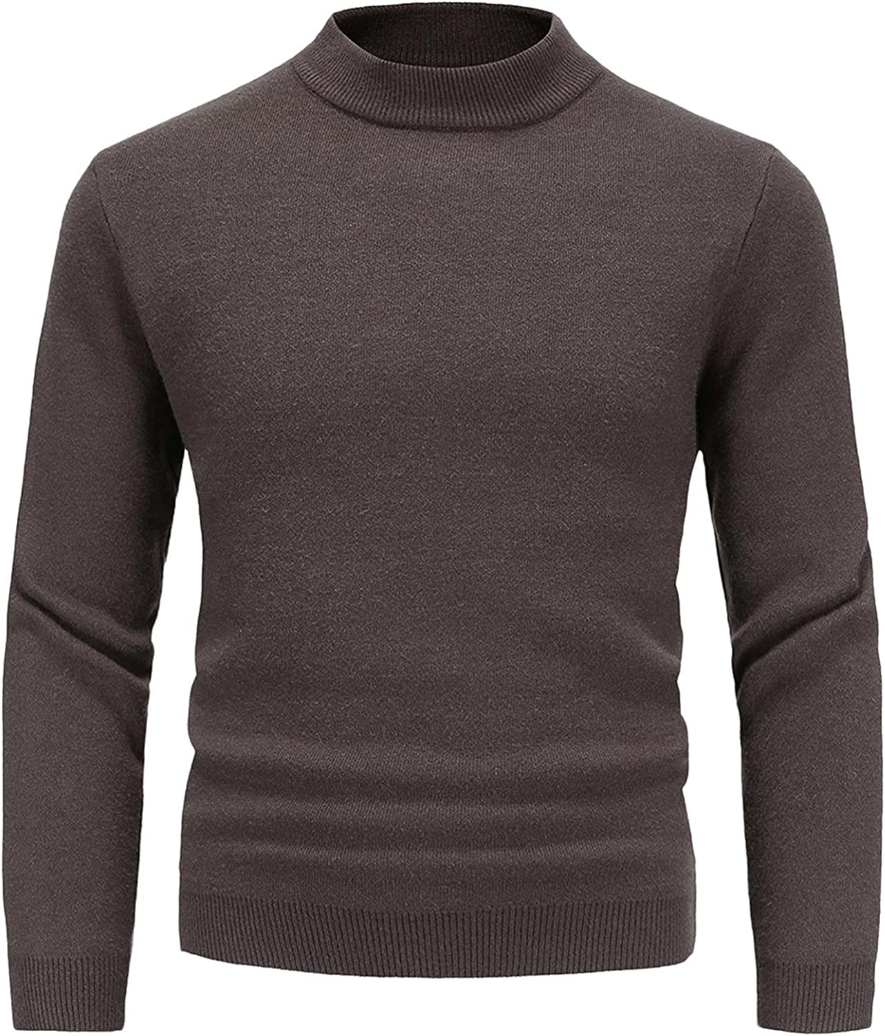LEIYAN ! Super beauty product restock quality top! Mens Ultra Soft Knitted Sweaters Cas Sleeve Slim Free shipping anywhere in the nation Long Fit