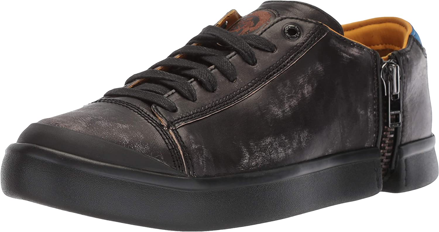 Diesel Men's Zip-Round S-Nentish Low-Sneakers