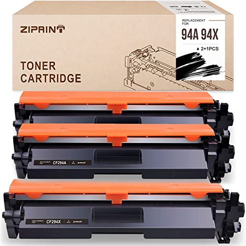 2021 ZIPRINT Compatible Toner Cartridge Replacement for HP outlet online sale 94A CF294A 94A CF294X use with HP Laserjet Pro M118dw MFP high quality M148dw MFP M148fdw Printer (Black, 3-Pack) outlet online sale