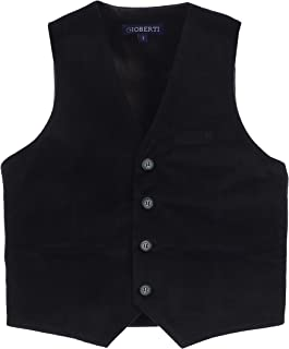 Boy's Velvet Formal Suit Vest