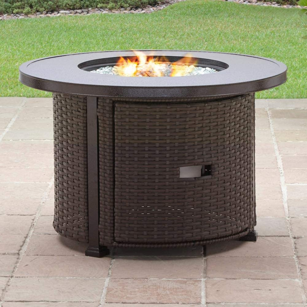 10 Better Homes & Gardens Colebrook 10 Inch Gas Fire Pit