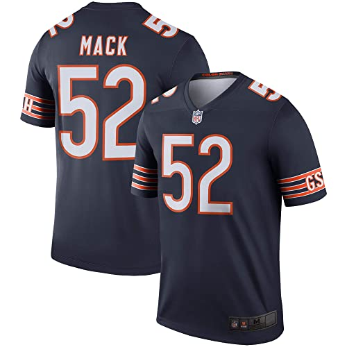 Mitchell   Ness Men s NFL Chicago Bears Khalil Mack  52 Jersey-Navy 2d351819d