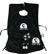 BEARDED TODDLER - Multifunctional and best Facial, Beard and Body Hair Clippings/Shaving/Cutting Catcher & Grooming Cape Apron/Bib - Quick Attach Suction Cups + Bag (Eliminates Cleanup Hassles, High Q