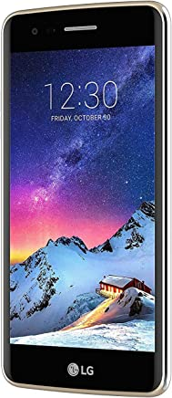 LG K10 Smartphone, 16 GB, Marchio TIM, Nero [Italia]