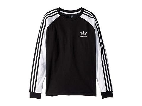 3 stripe long sleeve t shirt by adidas originals