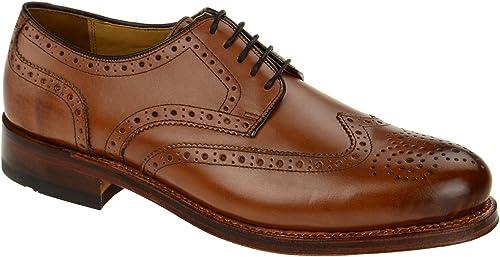 Gordon & Bros2318-e Midmarrón - zapatos con Cordones Hombre
