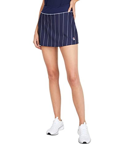 Fila Heritage Stripe Skort (Navy/White) Women