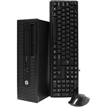 HP ProDesk 600 G1 SFF Slim Business Desktop Computer, Intel i5-4570 up to 3.60 GHz, 8GB RAM, 500GB HDD, DVD, USB 3.0, Windows 10 Pro 64 Bit (Renewed) (8GB RAM | 500GB HDD) (Renewed)