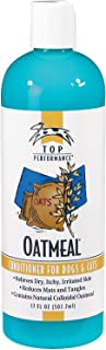 Top Performance Oatmeal Pet Conditioner for Bathing Dogs and Cats in 17 Oz. Size – Restores Moisture to Dry, Itchy Skin