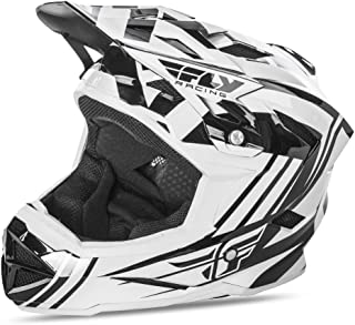FLy Racing Default Casco Mountain Bike/BMX Color Blanco de Negro