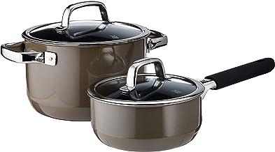 WMF Fusiontec 2Pc Cookware Set Dark Brass, Brown, 1kg