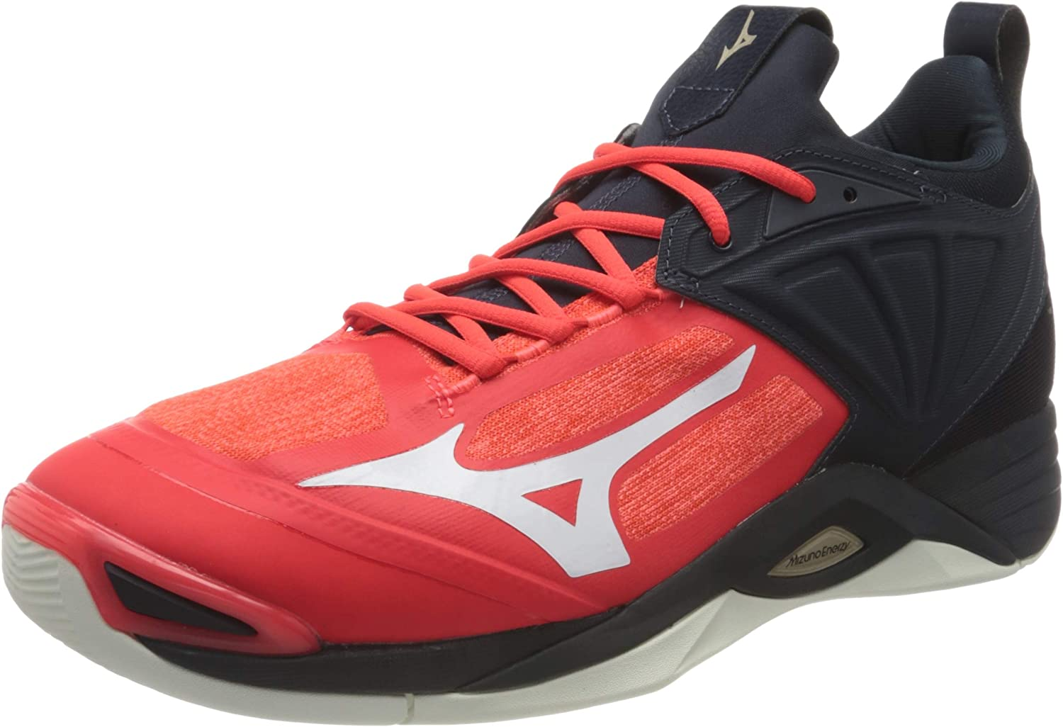 Mizuno Men's Running Volleyball Salute Shoe Ignitionred White Same day Our shop most popular shipping