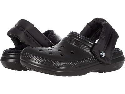 Crocs Classic Lined Neo Puff Clog Shoes