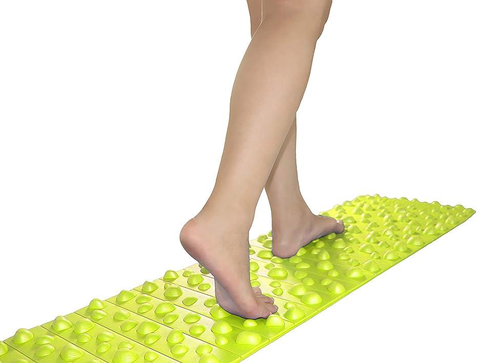 対応する状態許されるバランスワン 足ツボマット(120cm) (緑)