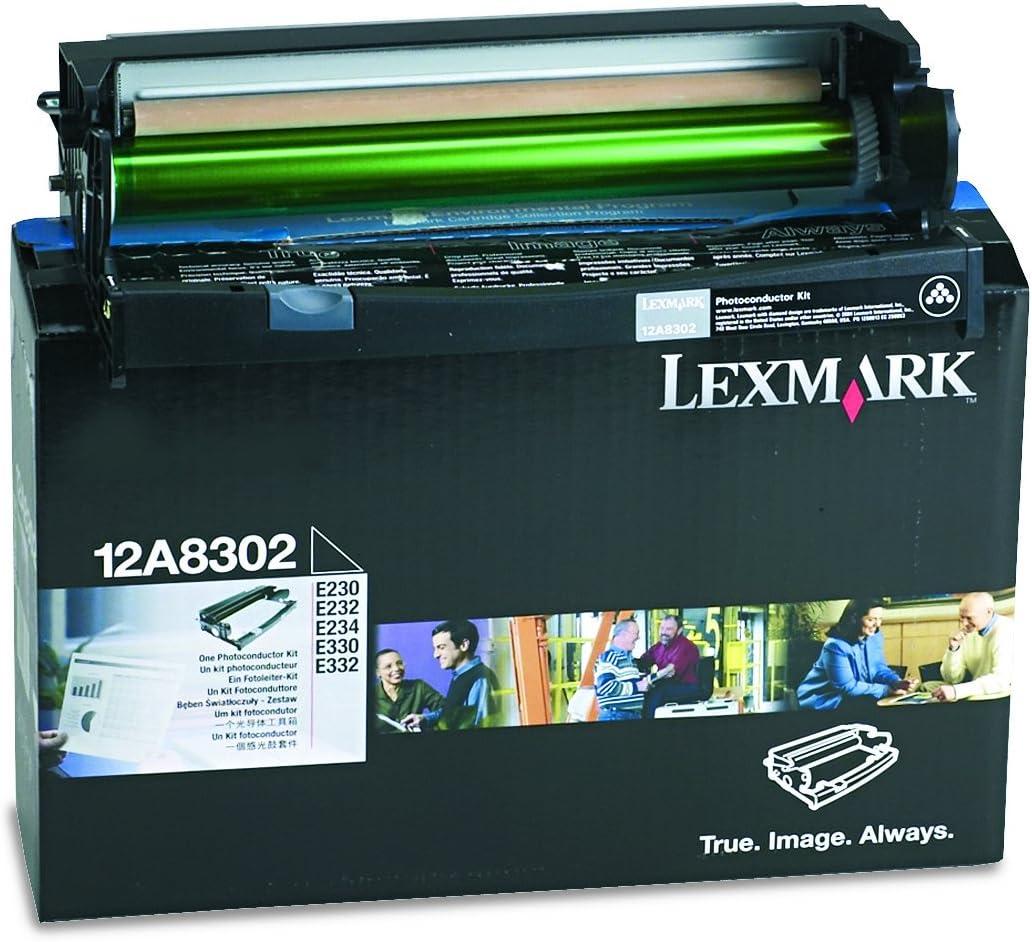 Lexmark 12A8302 Laser Printer E230 E232 E234 E238 E240 E330 E332 E340 E342 Drum Unit in Retail Packaging
