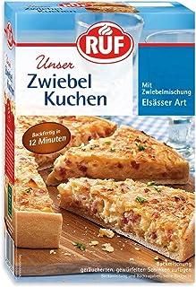RUF Elsässer Zwiebel-Kuchen Backmischung und Zwiebelmischung, 7er Pack 7 x 300 g Packung